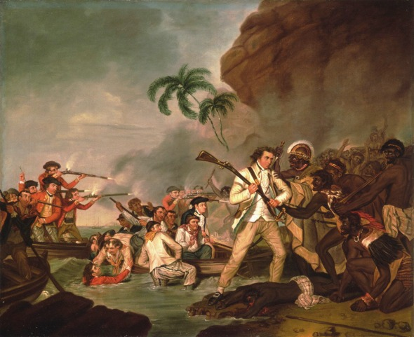 The Death of Captain James Cook, by Carter