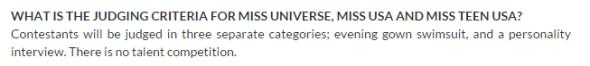 judging criteria miss universe
